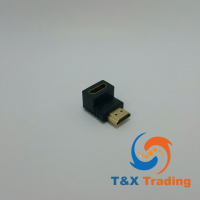 HDMI Right Angle OTG Adapter