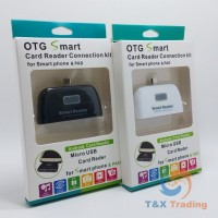 OTG - 4 in 1 Smart Card Reader Connection Kit Micro USB Adapter
