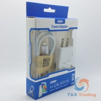 Samsung Travel Adapter Data Cable and Power Adapter - 2 in 1