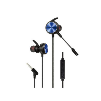 In-Ear Wired Gaming Earphones with Remote and Mic GM-D3