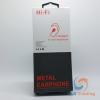 Hi-Fi In-Ear Earphone - Metal Earpods  with Remote and Mic for Type C Phone