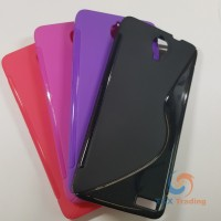 Alcatel Idol X - S-line Silicone Phone Case