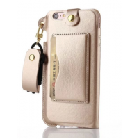 Apple iPhone 6 Plus / 6S Plus - Card Holder Case with String