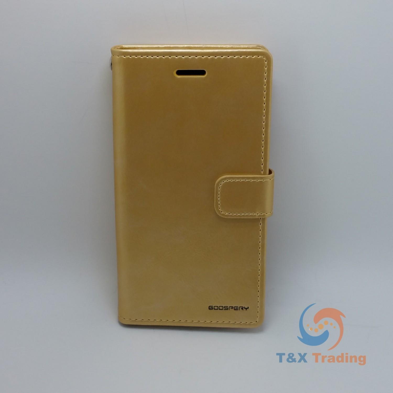 Apple Iphone 7 Plus 8 Goospery Blue Moon Diary Case Black