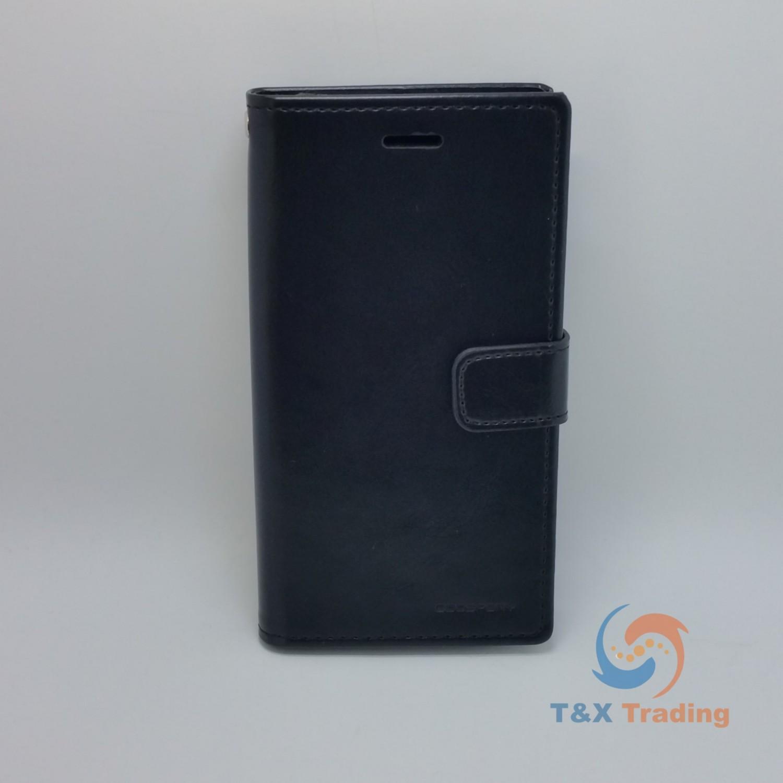 Apple Iphone 7 8 Goospery Blue Moon Diary Case X Flip Mint