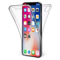 Apple iPhone X / XS - Full Cover Silicone Phone Case