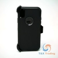 Apple iPhone X / XS - Defender Case with Belt Clip