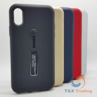 Apple iPhone X / XS - I Want Personality Not Trivial Case with Kickstand Color
