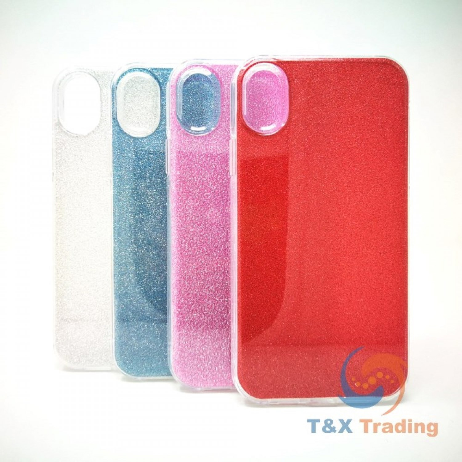 Apple iPhone X / XS - Twinkling Glass Crystal Phone Case