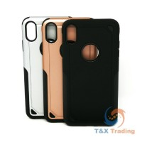 Apple iPhone XS Max - Slim Dual-Layered Armor Case