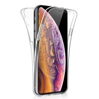 Apple iPhone XS Max - Full Cover Silicone Phone Case