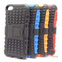 Apple iTouch 5 / 6 - Tough Jacket Case with Kickstand for iPod Touch