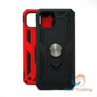 Google Pixel 4 XL - Transformer Magnet Enabled Case with Ring Kickstand