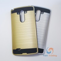 LG G3 - Slim Sleek Brush Metal Case