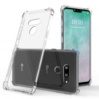 LG G8 - Reinforced Corners Silicone Phone Case