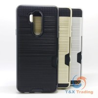 LG G7 - Slim Sleek Case with Credit Card Holder Case