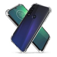 Motorola Moto G8 Plus - Reinforced Corners Silicone Phone Case