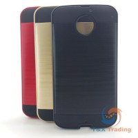 Motorola Moto X2 / X (Gen 2) - Slim Sleek Brush Metal Case