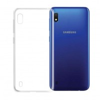 Samsung Galaxy A10 / M10 - Silicone Phone Case With Dust Plug