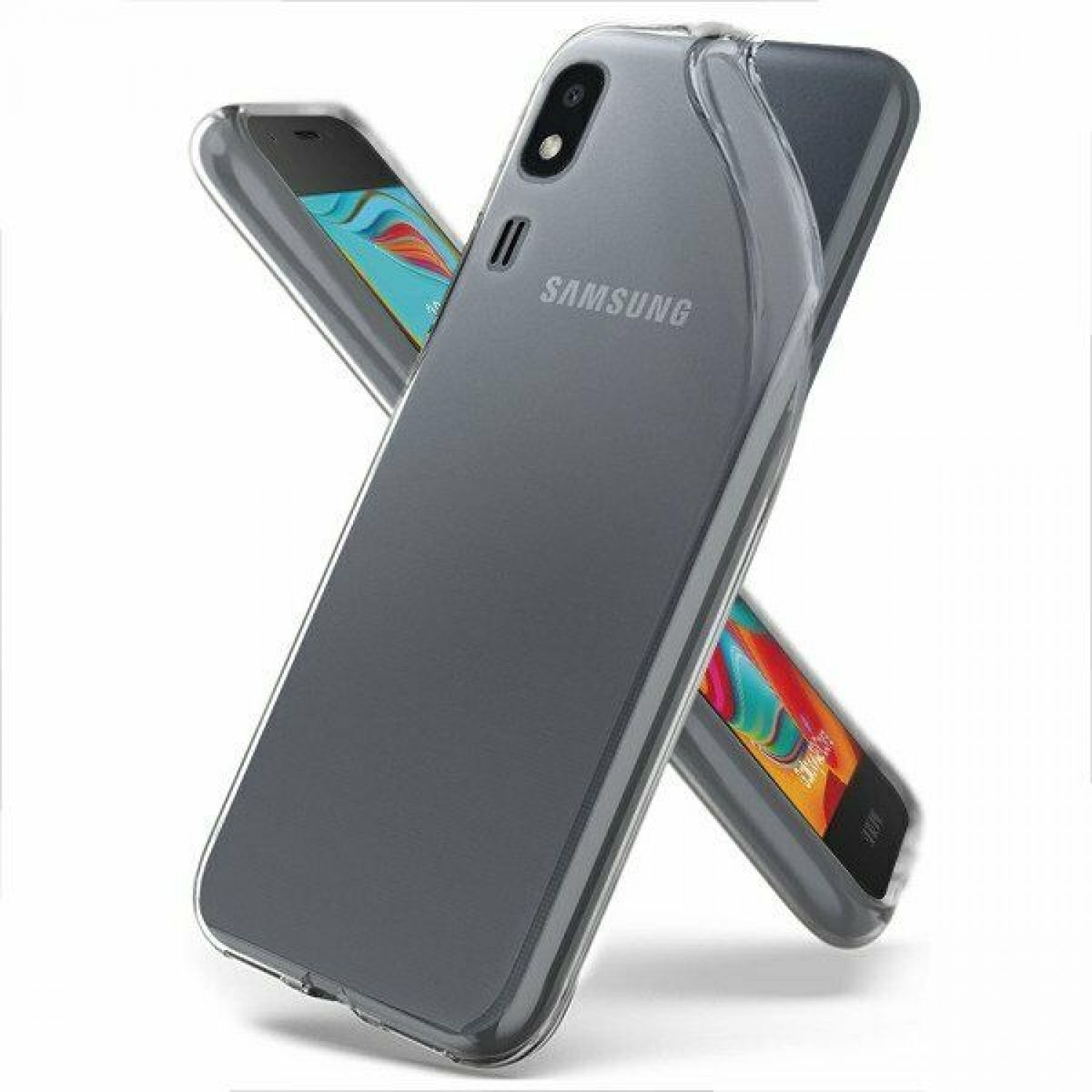 Samsung Galaxy A2 Core - Silicone Phone Case With Dust Plug