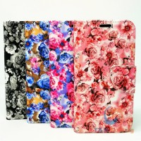 Samsung Galaxy S9 -  Floral Book Style Wallet Case