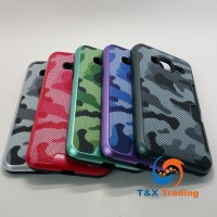 Samsung Galaxy J3 - Military Camouflage Credit Card Case