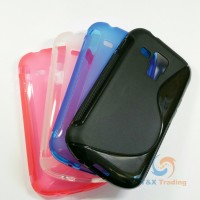 Samsung Galaxy S Duos - S-line Silicone Phone Case