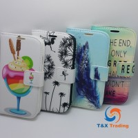 Samsung Galaxy S4 - Book Style Wallet Case with Design