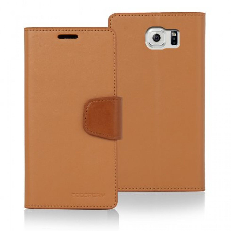 Samsung Galaxy S6 Edge Goospery Sonata Diary Case Canvas Green