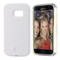 Samsung Galaxy S7 Edge - Dimmable Selfie LED Case