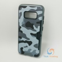 Samsung Galaxy S8 - Military Camouflage Credit Card Case