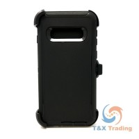 Samsung Galaxy S10 - Defender Case with Belt Clip
