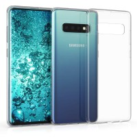 Samsung Galaxy S10 - Silicone Phone Case With Dust Plug