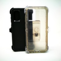 Samsung Galaxy S20 Ultra - Fashion Defender Case with Belt Clip