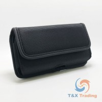 Horizontal Premium Construction Belt Clip Holster Case