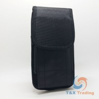 Vertical Construction Belt Clip Holster Case with Carabiner Hook