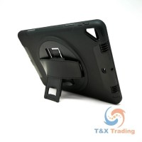 "Apple iPad 7th Generation 10.2"" - Heavy Duty Shockproof Rotatable Case with Kickstand"