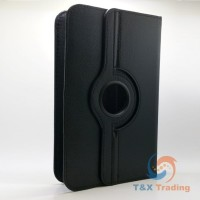 "Universal 8"" Tablet - 360 Rotating Leather Case"