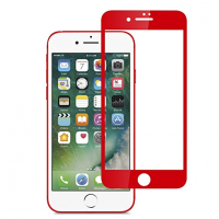 Apple iPhone 7 / 8 - Product Red Full Cover Tempered Glass Screen Protector