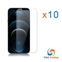 Apple iPhone 12 Pro Max BOX (10pcs) Tempered Glass Screen Protector