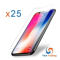 Apple iPhone X / XS Bulk (25Pcs) Tempered Glass Screen Protector