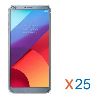 LG G6 Bulk (25Pcs) Tempered Glass Screen Protector