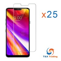 LG G7 - Bulk (25Pcs)  Tempered Glass Screen Protector