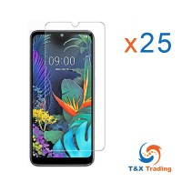 LG G8X - Bulk (25Pcs) Tempered Glass Screen Protector