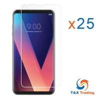 LG V30 Bulk (25Pcs) Tempered Glass Screen Protector