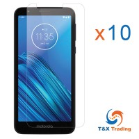 Motorola Moto E6  BOX (10pcs) Tempered Glass Screen Protector
