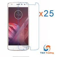 Motorola Moto Z2 Play Bulk (25Pcs) Tempered Glass Screen Protector