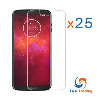Motorola Moto Z3 Play Bulk (25Pcs) Tempered Glass Screen Protector