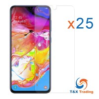 Samsung Galaxy A70 Bulk (25Pcs) Tempered Glass Screen Protector