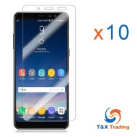 Samsung Galaxy A8 (2018) Box (10pcs) Tempered Glass Screen Protector